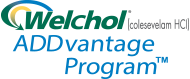 Welchol® (colesevelam HCI) ADDvantage Program™